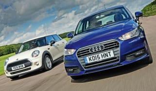 Audi A1 Sportback vs MINI One 5dr