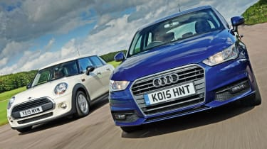 Audi A1 Sportback vs MINI One 5dr
