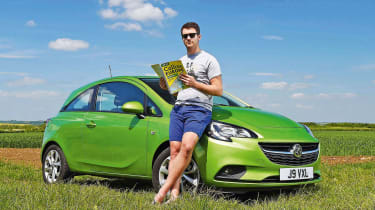 Vauxhall Corsa LT header