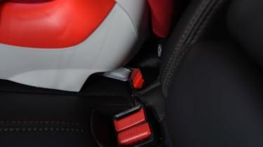 Mazda CX-5 - second report seat belt holder