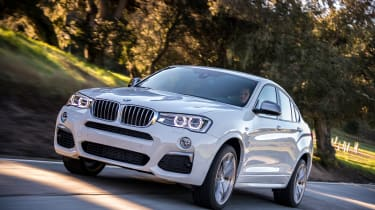BMW X4 M40i - front tracking