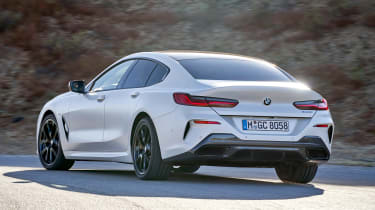 BMW 8 Series Gran Coupe - rear cornering