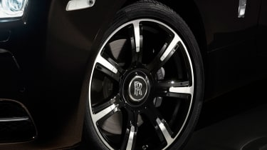 Rolls-Royce Wraith 'Inspired By Music' wheel