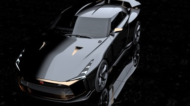Nissan GT-R50 by Italdesign prototype nose