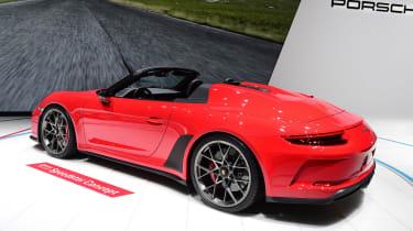 Porsche 911 Speedster - Paris rear