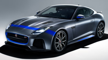Jaguar F-Type SVR Graphic Pack front