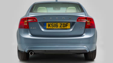 Used Volvo S60 - full rear