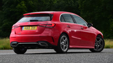 Mercedes A-Class - rear/side