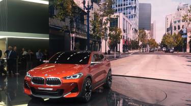 New BMW X2 concept at Paris 2016 wide