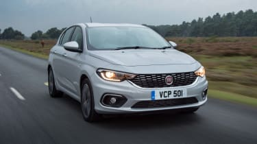 Fiat Tipo - front lights on