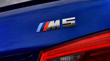 BMW M5 - M5 badge