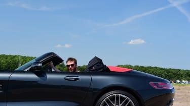 Mercedes-AMG GT Roadster - roof open