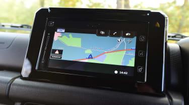 Suzuki Jimny - navigation