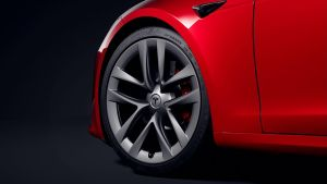 Tesla Model S facelift - wheel