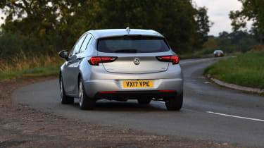 Vauxhall Astra - Rear Cornering