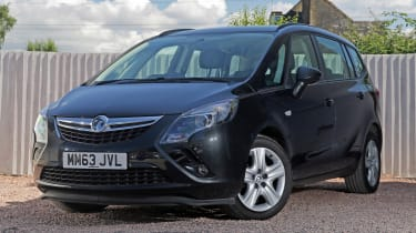Used Vauxhall Zafira Tourer - front