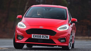 Ford Fiesta ST-Line - front cornering
