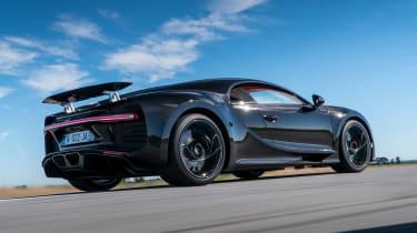 Bugatti Chiron - rear action