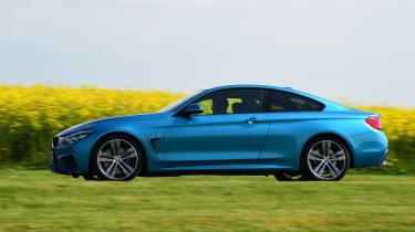 BMW 420d M Sport - side