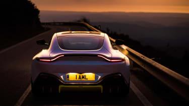 Aston Martin Vantage - full rear dusk