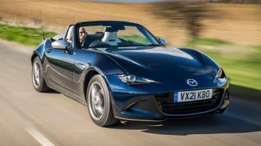 Mazda MX-5 Sport Venture - front tracking