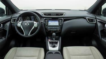 Nissan Qashqai 2014 1.6 dCi interior