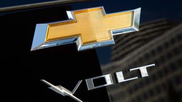 Chevrolet Volt badge