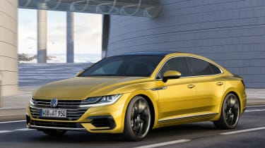 Volkswagen Arteon official - R-Line front tracking