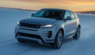 Range Rover Evoque prototype - front