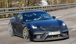 Porsche 718 Cayman GT4 front side