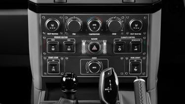 Ineos Grenadier - centre console