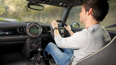 MINI Cooper S JCW driving