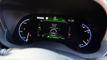 Toyota Yaris Cross - dials