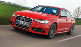 Audi S6 front tracking