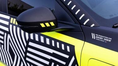 Renault Megane E-Tech Electric SUV - wing mirror
