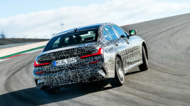 BMW M340i xDrive prototype - rear