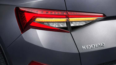Skoda Kodiaq facelift - rear lights