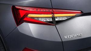 Skoda Kodiaq facelift - rear lights