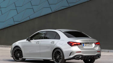 Mercedes A-Class Saloon - rear static
