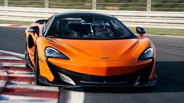 McLaren 600LT - front cornering
