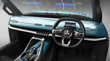 Mitsubishi MI-TECH concept - windscreen