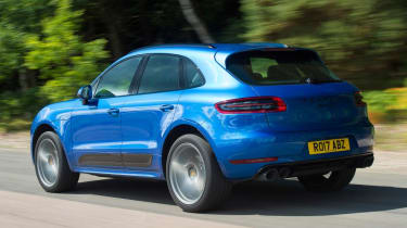Used Porsche Macan - rear action