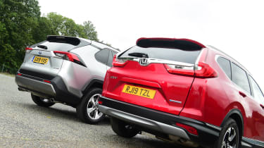 Toyota RAV4 vs Honda CR-V - rear