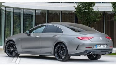 Mercedes CLS leaked pic rear