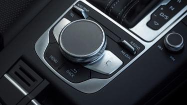 Audi A3 infotainment dial