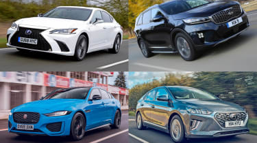 Best new cars for under £500 per month - header