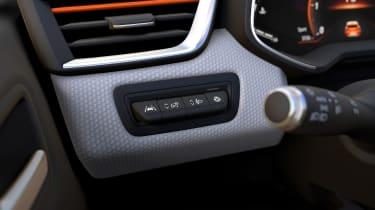 Renault Clio - controls
