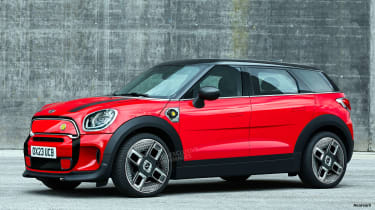 MINI EV Crossover - best new cars 2022 and beyond