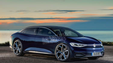 Volkswagen I.D. Vizzion - exclusive image