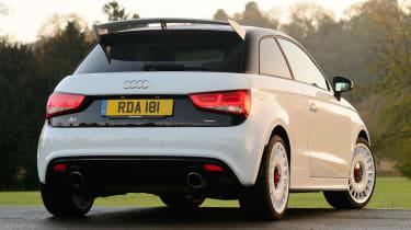 Audi A1 quattro rear static